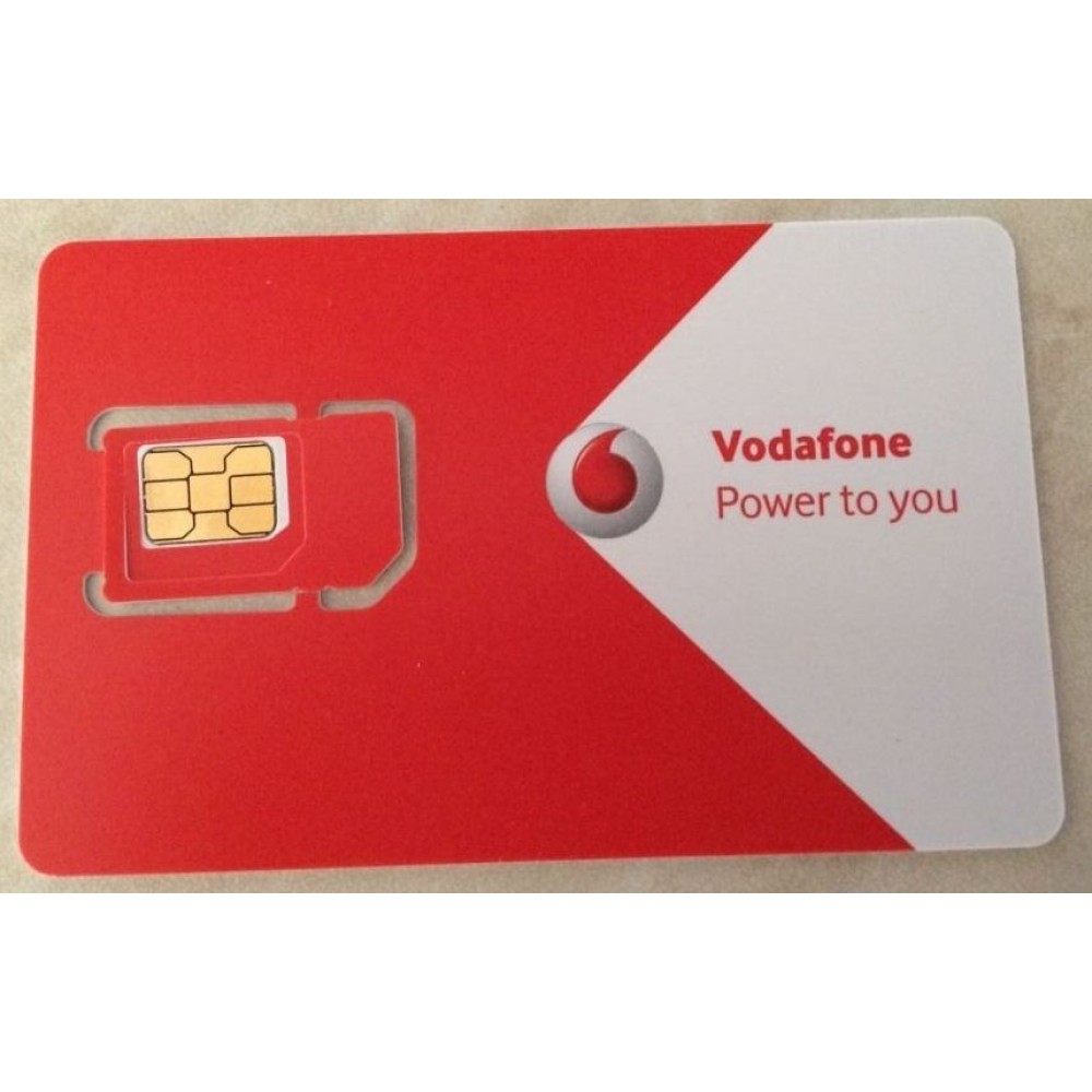 Vodafone  - 3 дня за 210 руб (2,5 €) = 30 мин+100 МБ+ 10 смс