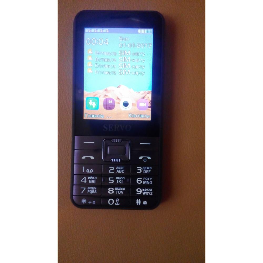 SERVO V8100 - 4 сим-карты, телефон