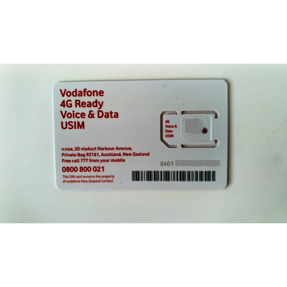 Новая Зеландия - Vodafone ( + 64...)