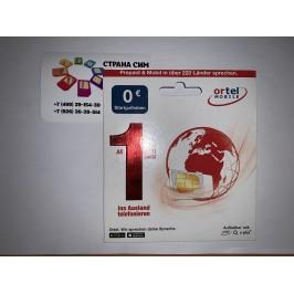 Германия - Ortel Mobile (+ 49...)